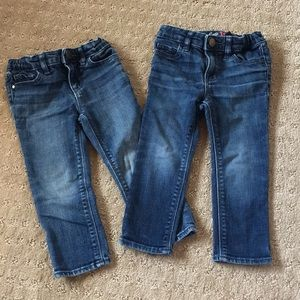 Bundle of 2 Baby Gap 1969 Mini Skinnies- 2T